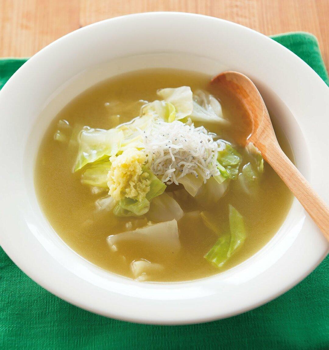 内臓脂肪を燃やし、<br />糖尿病を遠ざける<br />キャベツの長寿スープとは?