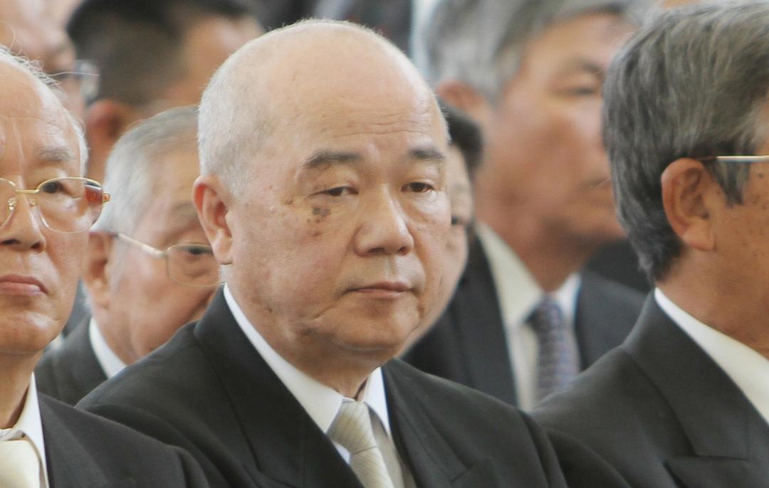 神社本庁の田中恆清総長
