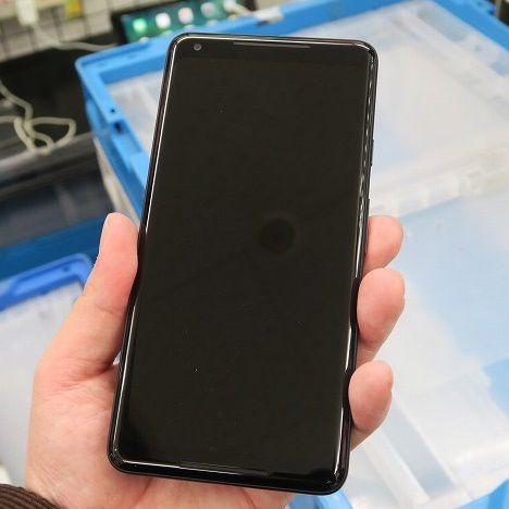 15万円超のGoogle最新スマホの大画面モデル「Pixel 2 XL」が入荷