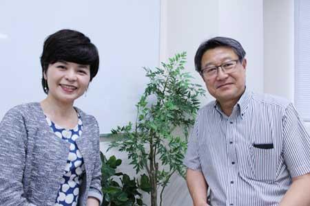 大塚万紀子氏(左)と永田公彦氏