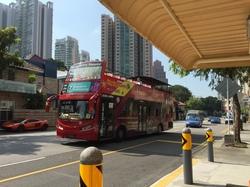 観光客向けのバス