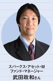 スパークス・アセット・Mの武田政和さん