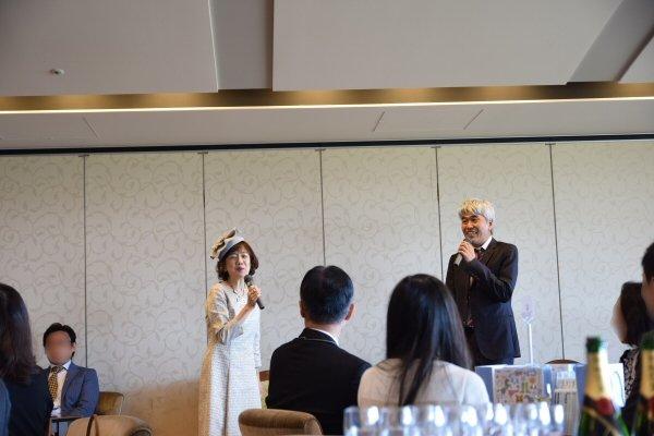 大和屋暁氏と鈴木淑子氏