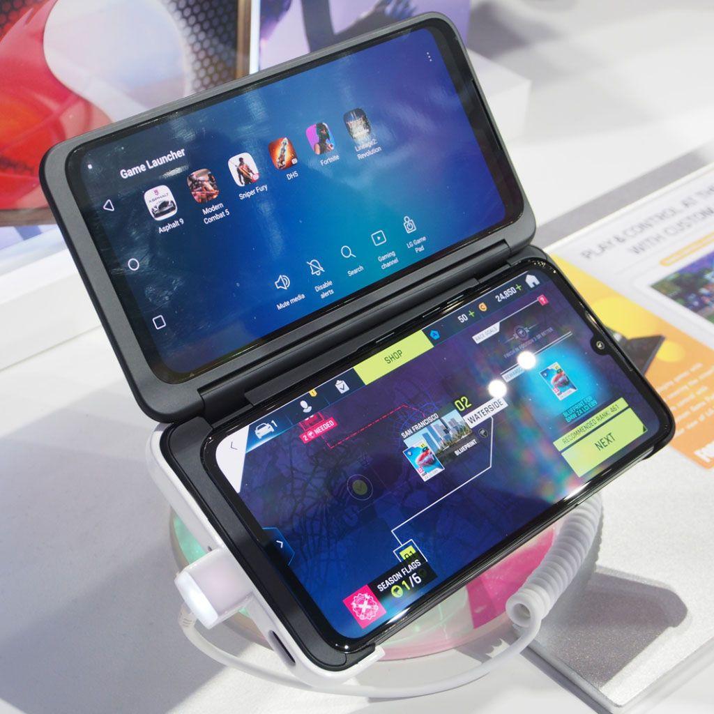 外付けオプションで2画面スマホ化する「LG G8X ThinQ」実機チェック