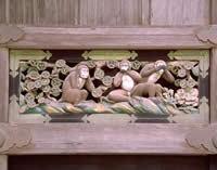 日光東照宮の三猿像
