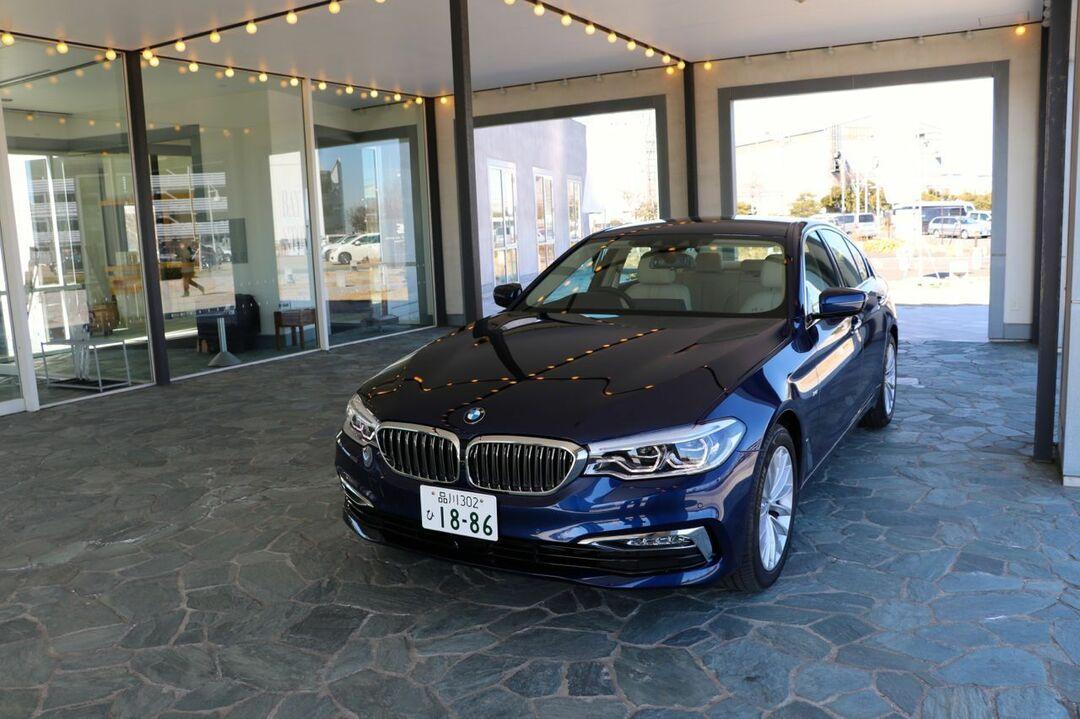 ヨーロッパのビジネスマンの憧れ<br />BMW5シリーズは夢のカンパニーカー