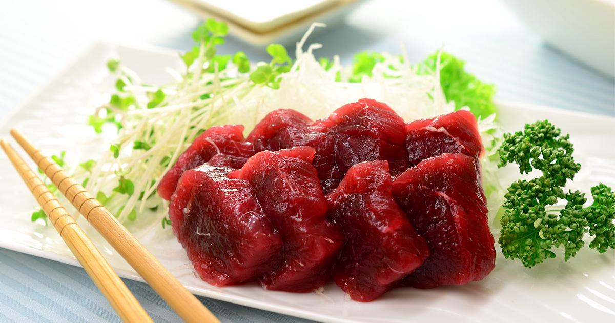 低カロリーだけじゃない!鯨肉の凄すぎる栄養価