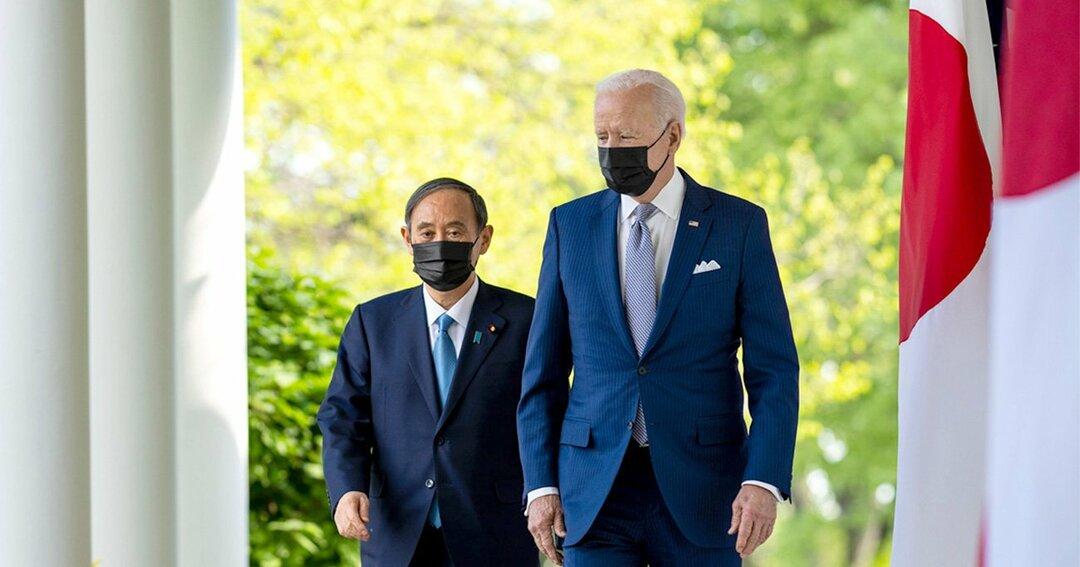 4月16日に行われた日米首脳会談。最大の焦点は「中国」だった