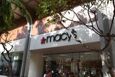ハワイにある百貨店の「macy's」