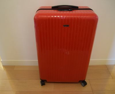 「アールワイレンタル」で借りたスーツケース