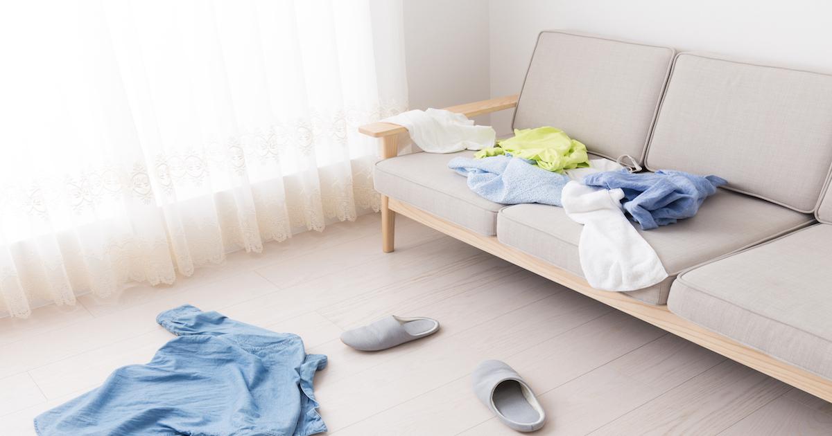 新妻が部屋を片づけられないのは「ある病気」が原因だった