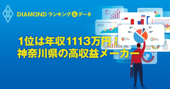1位は年収1113万円!神奈川県の高収益メーカー
