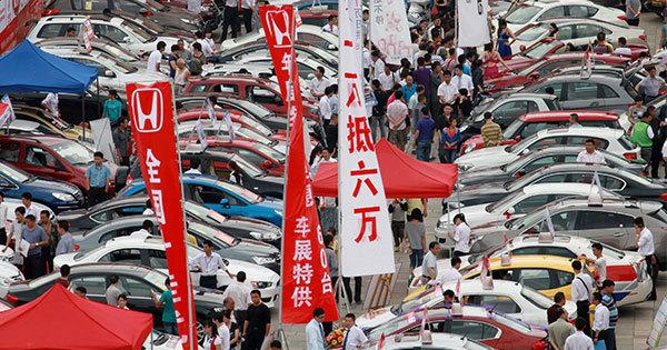 各国企業間の競争が激しさを増している中国の自動車市場