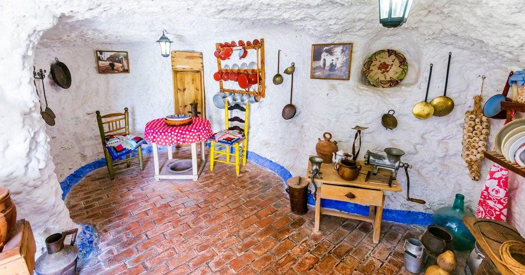 アンダルシアの洞窟内の住居