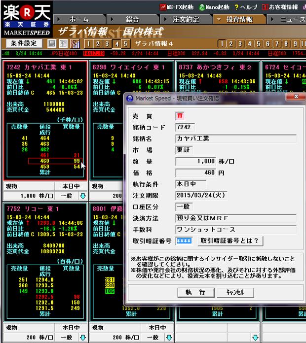 証券会社ランキング ネット証券8社の投資ツール 株価ボード の便利