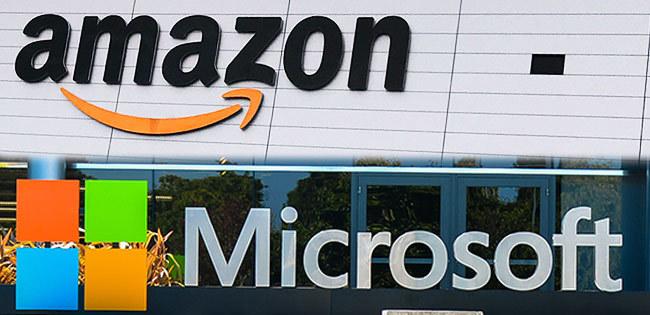 アマゾンとマイクロソフト
