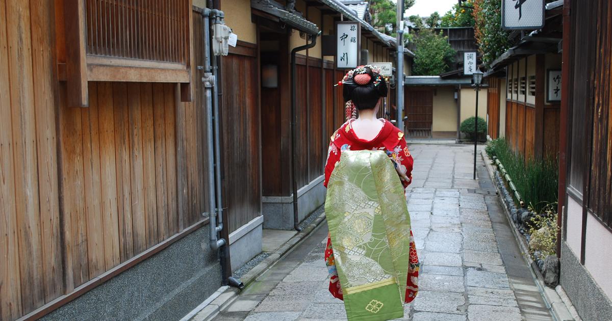 京都祇園の芸事に対する意気込みと迫力