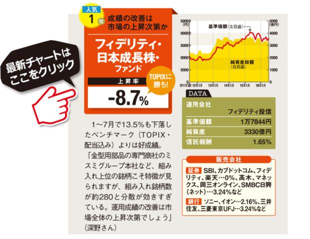 フィデリティ-フィデリティ・日本成長株・ファンドの最新情報はこちら!