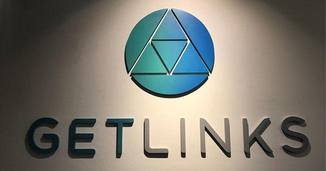 Getlinksのロゴ