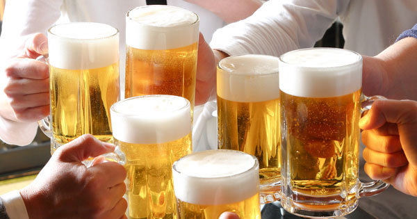 ビールを思いきり飲んでも太らな...