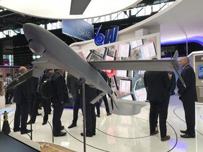 欧州最大の国際防衛・安全保障展示会「ユーロサトリ」から