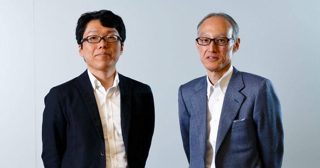 東京大学 産学協創推進本部の馬田隆明氏とACCESS共同創業者でエンジェル投資家の鎌田富久氏