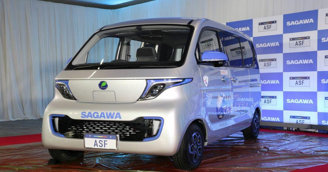 佐川急便が発表した中国製EV