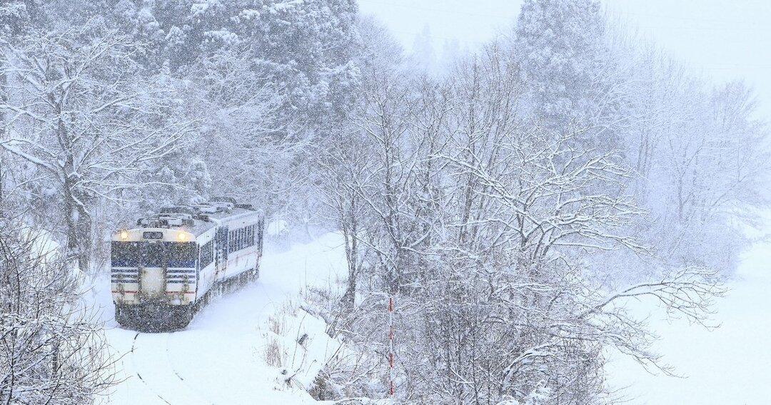視界不良の猛吹雪で、列車が緊急停車!不測の事態で浮き彫りになる日本人の脆さ