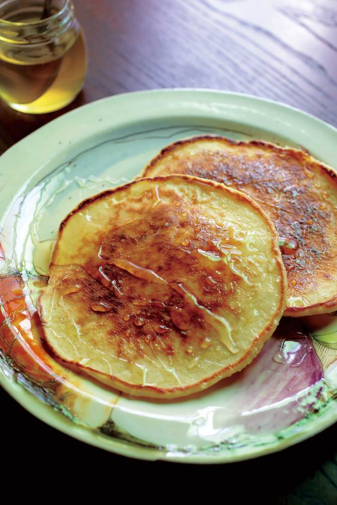 自然薯パンケーキ