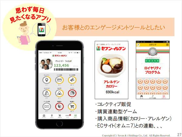 セブン&アイ・ホールディングスが導入予定のアプリ