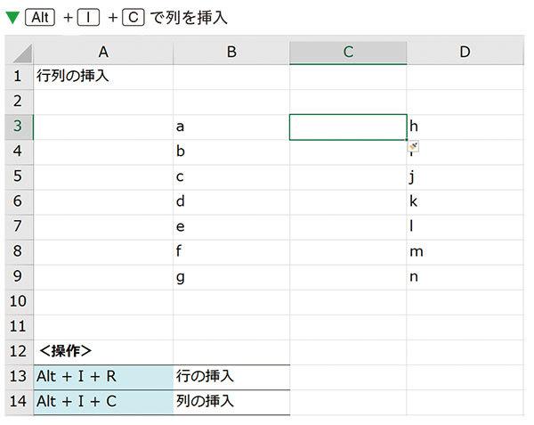 エクセルは、0.5秒で行と列を挿入できる | 神速Excel | ダイヤモンド ...