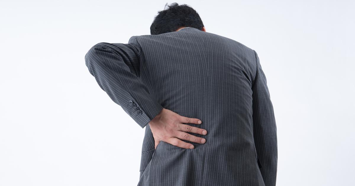 腰痛を簡単に予防できる、ある100円グッズの使い方