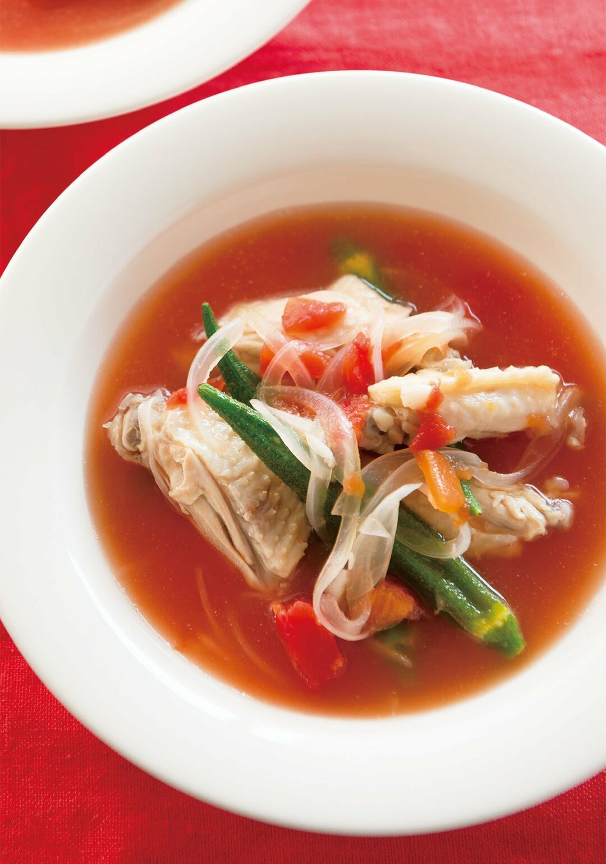 ただれた腸を修復する<br />鶏スペアリブの<br />長寿スープとは?