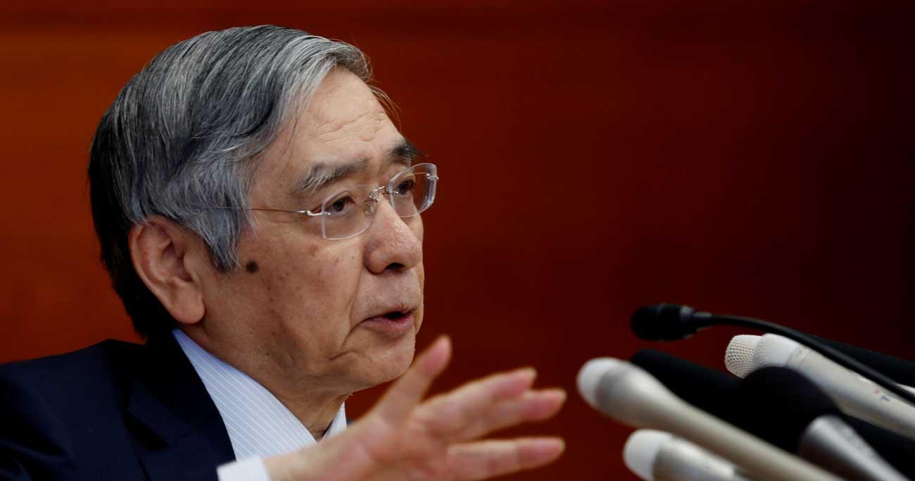 「躊躇なく」の文言、従来より金融緩和に前向き=黒田日銀総裁