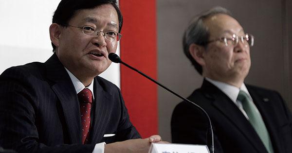 東芝CEOに大物バンカー就任、53年ぶり外部登用に社内は警戒