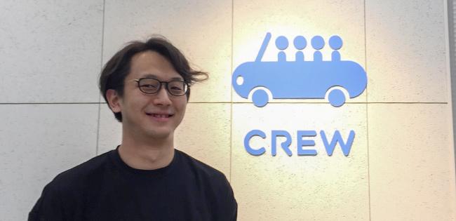 CREWの吉兼周優社長