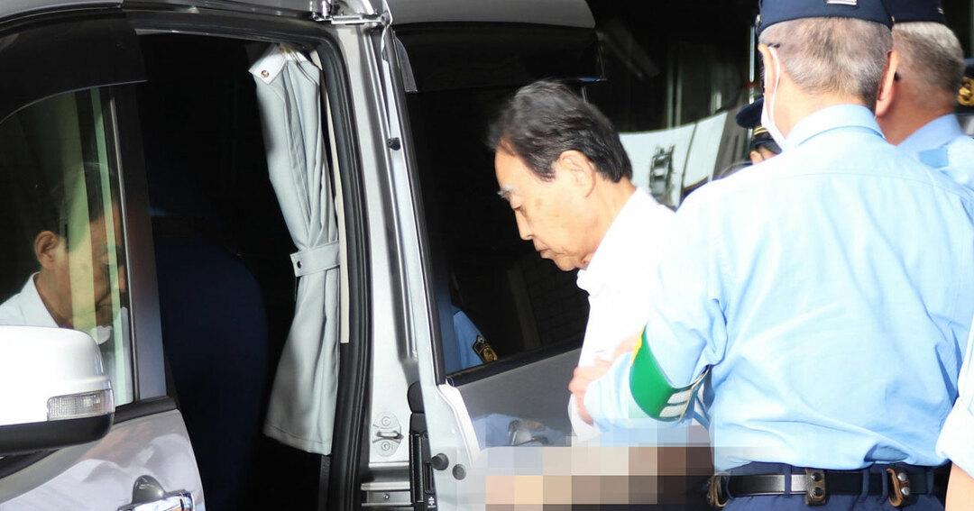 息子を殺した罪で逮捕された熊沢英昭容疑者