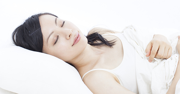 最強の寝る姿勢は「仰向け」である。