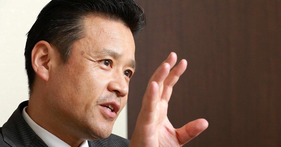 写真:南 昌宏・りそなホールディングス社長