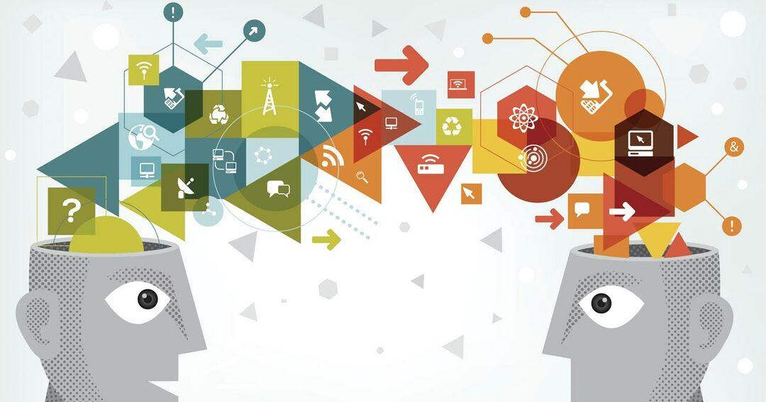 新しいアイデアを導く、創造型技術者イメージ
