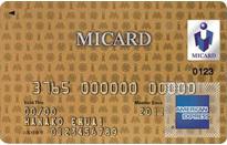 「エムアイカードゴールド(MICARD GOLD)」のカードフェイス
