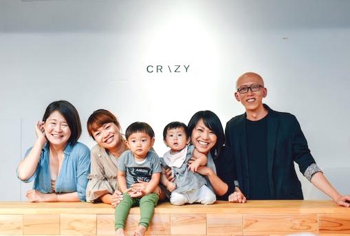子連れ勤務が歓迎されるCRAZY社
