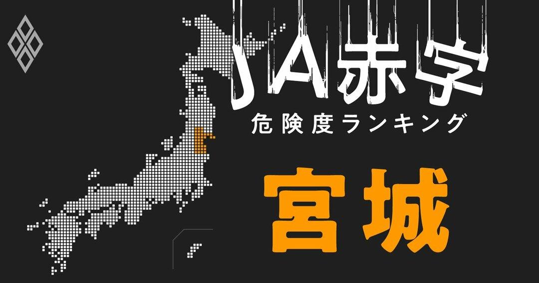 JA赤字危険度ランキング#宮城