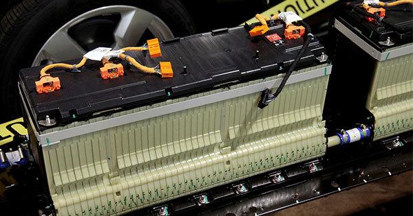 電気自動車に使われたリチウムイオン電池