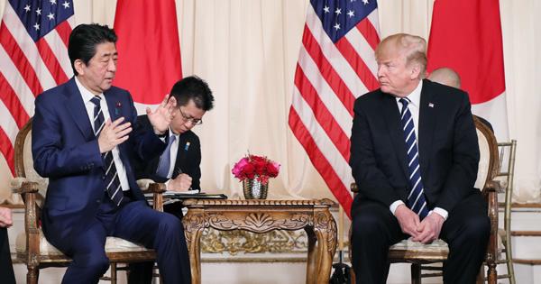 日米首脳会談 安倍総理 トランプ大統領