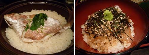 鯛めし――旨みが凝縮された2種類の鯛めしで、瀬戸内海を味わう!