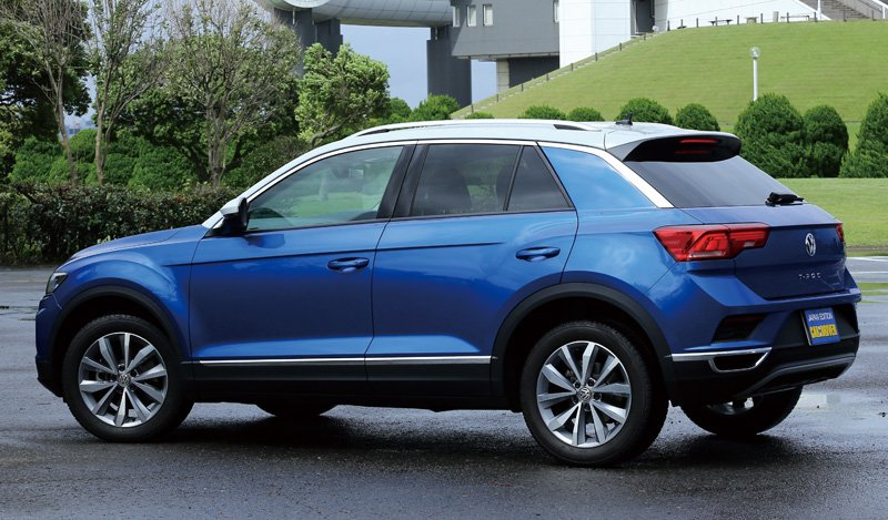 VW・TーRoc(Tロック)・TDIスタイル・デザインパッケージリアビュー