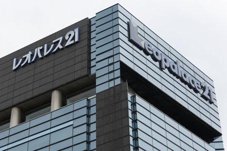 大規模な施工不良が発覚したレオパレス21の本社