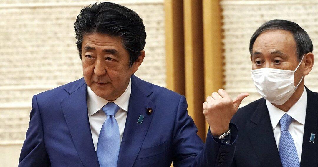 ポスト安部,安部首相辞任,菅義偉