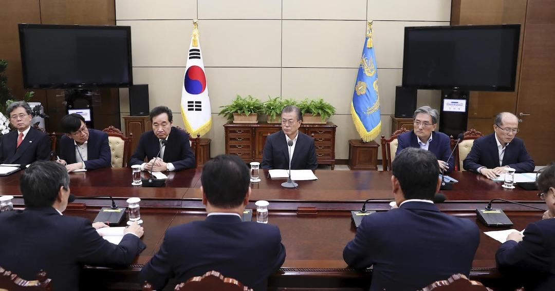 GSOMIA破棄韓国文在寅大統領